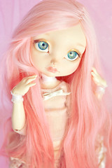 ☆ Vanilla Strawberry ☆ (Shimiro Doll Photography) Tags: bjd doll dollphotography bjdphotography portrait nikon balljointeddoll custombjd toy pullip dolls toys cute kawaii yosd pastelgirl pastelfashion pastel lillycat cerisedolls toyphotography poulpy lillycatpoulpy cerisedollspoulpy