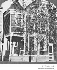 1910  427  First street. Home of Julius Wendt (albany group archive) Tags: early 1900s arbor hill old albany ny vintage photos picture photo photograph history historic historical