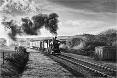 Swanage T9 (channel packet) Tags: swanage railway uk gb england dorset t9 class monochrome davidhill