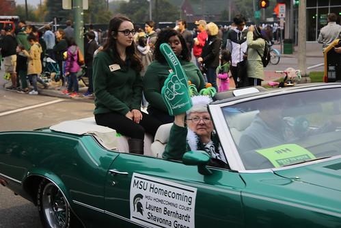 Homecoming Parade, October 2018