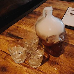 Long Island in a skeleton #drinks #skeleton
