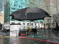 2019 Big Umbrella Academy in Bryant Park NYC 1326 (Brechtbug) Tags: big umbrella bryant park nyc 2019 february 02132019 new york city 6th avenue near 42nd st behind public library midtown manhattan the academy netflix tv series comic book based starting friday 15th bumbershoot umbrellas