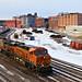 1/2 BNSF 4271 Leads EB Manifest Kansas City, MO 2-9-19