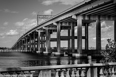 A Walk In Historic Downtown Fort Myers (jeeprider) Tags: florida fortmyers urban downtown streetviews monochrome blackandwhite