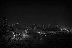 Mumbai (LXXXIII) (manuela.martin) Tags: bw blackandwhite schwarzundweis india mumbai nightshot cityscape
