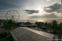 SM Mall of Asia (takashi_matsumura) Tags: sm mall asia pasay manila philippines ngc nikon d5300 contraluz ferris wheel sunset afp dx nikkor 1020mm f4556g vr