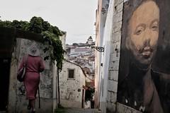 Alfama,  Lisbon (Justin Button) Tags: streetart lisboa alfama lisbon portugal fujifilmx100f snapseed