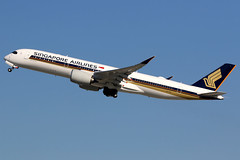 Singapore Airlines | Airbus A350-900 | 9V-SGC | Los Angeles International (Dennis HKG) Tags: aircraft airplane airport plane planespotting staralliance canon 7d 100400 losangeles klax lax singaporeairlines singapore sia sq airbus a350 a350900 airbusa350 airbusa350900 9vsgc