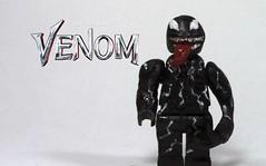 LEGO Custom Venom Minifigure (TheCaptain'sCustoms) Tags: lego venom marvel custom thecaptainscustoms legocustom minifigure villain super