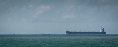 Key Pacifico and barge (johnstewartnz) Tags: canon canonapsh apsh eos 100canon 1dmarkiii 1d3 1dmark3 1d 1dmkiii 1dmk3 1diii 400mm 400 canonef400mmf56 ship keypacifico