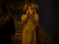 * (Magic Pea) Tags: streetphotography streetphoto street unposed candid photo photography magicpea urban london hackney eastlondon smoking person coat cigarette smoke night eyes