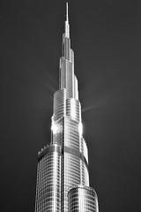 Dubai - Top of Dubai (cnmark) Tags: dubai uae united arabic emirates burj khalifa tall tallest برج خليفة building gebäude hochhaus skyscraper wolkenkratzer gratteciel grattacielo rascacielo arranhacéu architecture architektur tower bw sw black white schwarzweiss ©allrightsreserved