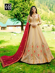 Beige and Red Designer #AnarkaliSalwarSuit Online On #YOYO Fashion. (yoyo_fashion) Tags: style fashion dresses suits shopping offers womenwear eidspecialdress designerdress look lookbook womenwearsuit indianwedding womenfashion outfitinspo ethnic indianfashion offer indianwear ethnicwear bridalwear