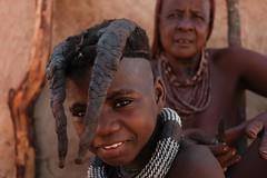 Himba people, Oruhuna village, Namibia (.sl.) Tags: himba namibie people portrait villagedoruhuna streetphotography street native namibia namibian color tribe tribal