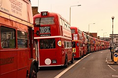 On Parade (ekawrecker) Tags: bus backtobk london transport regent rt aec barking 40years 1979 2019 1939 80years