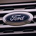 Ford Logo on New Car Grille