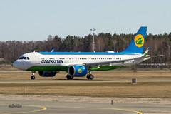 IMG_5149@L6 (Logan-26) Tags: airbus a320251n uk32021 msn 8754 uzbekistan airways brand new riga international rix evra latvia airport aleksandrs čubikins