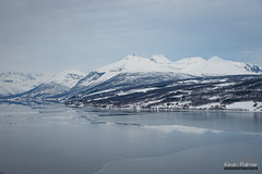 Frozen Balsfjorden (kevin-palmer) Tags: norway arctic europe winter march snow snowy arcticocean sea water fjord ice icy frozen mountains nikond750 cloudy overcast tamron2470mmf28 scandinavianmountains balsfjorden cold tromscounty