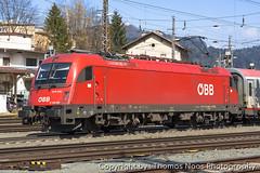 ÖBB, 1216 006-7 (Thomas Naas Photography) Tags: österreich austria eisenbahn railways zug züge train lokomotiven lokomotives fahrzeuge outdoor kufstein siemens es64u4 taurus öbb