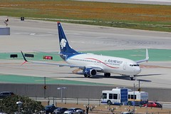 B737 XA-ADU Los Angeles 21.03.19 (jonf45 - 5 million views -Thank you) Tags: airliner civil aircraft jet plane flight aviation lax los angeles international airport klax aeromexico boeing 737 xaadu