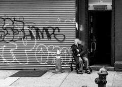 DSC05799_ep_gs (Eric.Parker) Tags: newyork nyc ny bigapple usa manhattan 2015 graffiti bw