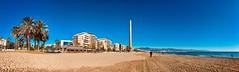 Playa de la Misericordia.Malaga (Juany J.T) Tags: playa malaga paseo maritimo misericordia andalucía panorámica