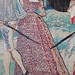 detail of Fontainebleau - Valois Tapestries
