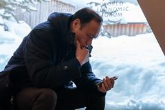 World Economic Forum Annual Meeting 2019 Public (World Economic Forum) Tags: 2019 am2019 annualmeeting davos globalization switzerland wef congresscentre davos19 wef19 worldeconomicforum globalization40 browse contrast impressions man phone ponder snow thought2019am2019annualmeetingdavosglobalizationswitzerlandwefcongresscentredavos19wef19worldeconomicforumglobalization40browsecontrastimpressionsmanphonepondersnowthought