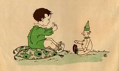 sijtje  Aafjes  Nieuwe oogst voor de kleintjes 1925, ill pg  14 (janwillemsen) Tags: sijtjaafjes bookillustration 1925 schoolbook childrensbook
