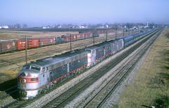 CB&Q E9 9993 (Chuck Zeiler52) Tags: cbq e9 9993 burlington railroad emd locomotive eola train northcoastlimited freight chuckzeiler chz yard
