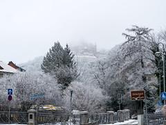 Am Zillierbach in Wernigerode (Corno3) Tags: grau schnee drausen natur winter wernigerode harz sachsenanhalt deutschland de schloss eis kalt bach vereist