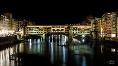 Firenze (mrcphoto.it) Tags: pontevecchio florence firenze arno night longexposure light beautiful awesome panorama reflex mirror river life romantic city mrcphotoit