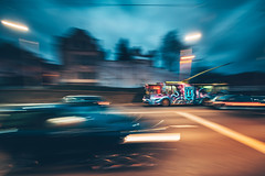 Funny trolley | Kaunas #48/365 (A. Aleksandravičius) Tags: kaunas trolleybus trolley bus public transportation wide angle street city evening nikon z7 nikonz7 mirrorless nikkorz irix 11mm irix11mmf4 irix11mm kaunas2022 lithuania lietuva 2019 365one 365days 3652019 365 project365 48365 panning