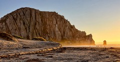 Morro Rock at sunset (Randy Durrum) Tags: morro rock sunset