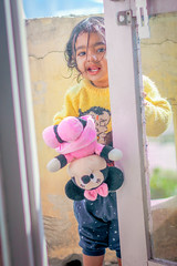 Hi there.. (VikramDeep) Tags: teg tegsharan kaur sidhu princess kid pink minimouse disney hamley hamleys portrait girl canon eos550d 50mm