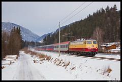 AKE E10 1309, Pichl 30-12-2017 (Henk Zwoferink) Tags: alpenexpress ae railexperts bahntouristikexpress bte henkzwoferink e101309 ake smartrail schladmingsteiermarkaustriaat