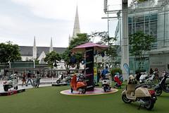 Vespa (chooyutshing) Tags: vespa display capitolpiazza northbridgeroad singapore
