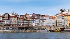 Porto Riverfront (Gene Mordaunt) Tags: douro porto river boat cityscape water worldheritagesite portugal nikon810