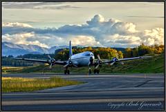 N747CE Everts Air Cargo (Bob Garrard) Tags: douglas c118a liftmaster n747ce everts air cargo anc panc warbird dc6a