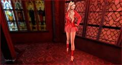 # 314 SALT (Mysterieuse Lady) Tags: salt gisele blazer skirt chain maitreya