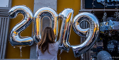 2018 - Mexico -  Mexico City - Happy New Year (Ted's photos - For Me & You) Tags: 2018 cropped mexico mexicocity nikon nikond750 nikonfx tedmcgrath tedsphotos tedsphotosmexico vignetting sign 2019 reflection happynewyear cdmx