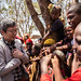 Daisuke Matsunaga, Japanese Ambassador to Ethiopia, playing with kids