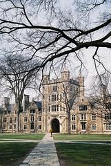 Law Quad - University of Michigan (davelawrence8) Tags: 2017 agfavista agfavista400 annarbor canonet michigan spring universityofmichigan usa