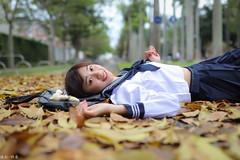 IMG_5469L (攝影玩家-明晏) Tags: mo model 外拍 人 人像 美女 girl woman taiwan taipei 戶外 pretty 正妹 canon sigma 陳若穎 portrait