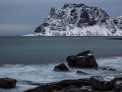 LiveComp Waves (katrin glaesmann) Tags: lofoten norwegen norway 2019 wwwicelandtoursnet longexposure nordland winter sea unterwegsmiticelandtours photographyholidaywithicelandtours mountains uttakleiv vestvågøy
