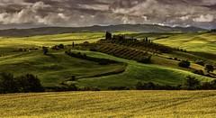 Luce e nuvole (giannipiras555) Tags: natura colline nuvole toscana valdorcia alberi panorama paesaggio lanscape colori