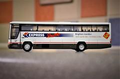 The Brighton Shuttle.... (stavioni) Tags: volvo b10m plaxton premiere national express brighton london shuttle coach bus model 025 n90slk