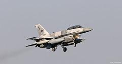 United Arab Emirates Air Force Lockheed F-16F Desert Falcon Block 60 '3024' at Morón AFB/LEMO (Mosh70) Tags: morónairbase lemo unitedarabemirates uae f16e f16f f16edesertfalcon f16fdesertfalcon lockheed block60 3024 3027 3062