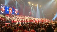 2019-103 - We Never Say Goodbye (Steve Schar) Tags: kohlcenter concert band michaelleckrone uwmarchingband uwvarsityband uwband iphonexs iphone project365 madison wisconsin 2019