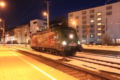 OBB 1116 159 te Innsbruck (vos.nathan) Tags: österreichische bundesbahnen obb 1116 159 150 jahre brennerbahn innsbruck hbf hauptbahnhof taurus